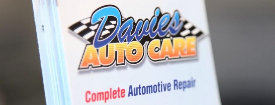 Davies Auto Care - SEO