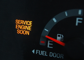 Check engine light on needs work from local mechanic.